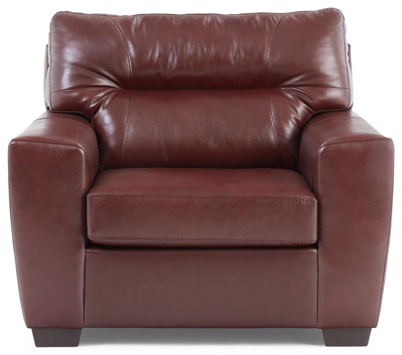 Noah Noah Leather Match Chair by Lane at Morris Home