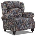 Lane Norwich High-Leg Power Recliner with Rolled Arms - Item Shown May Not Represent Exact Features Indicated