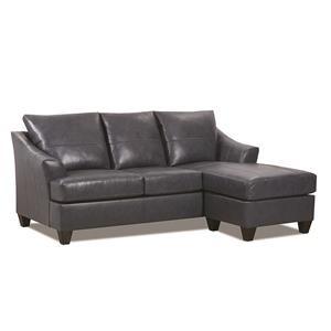 Novaleigh Leather Sofa Chaise