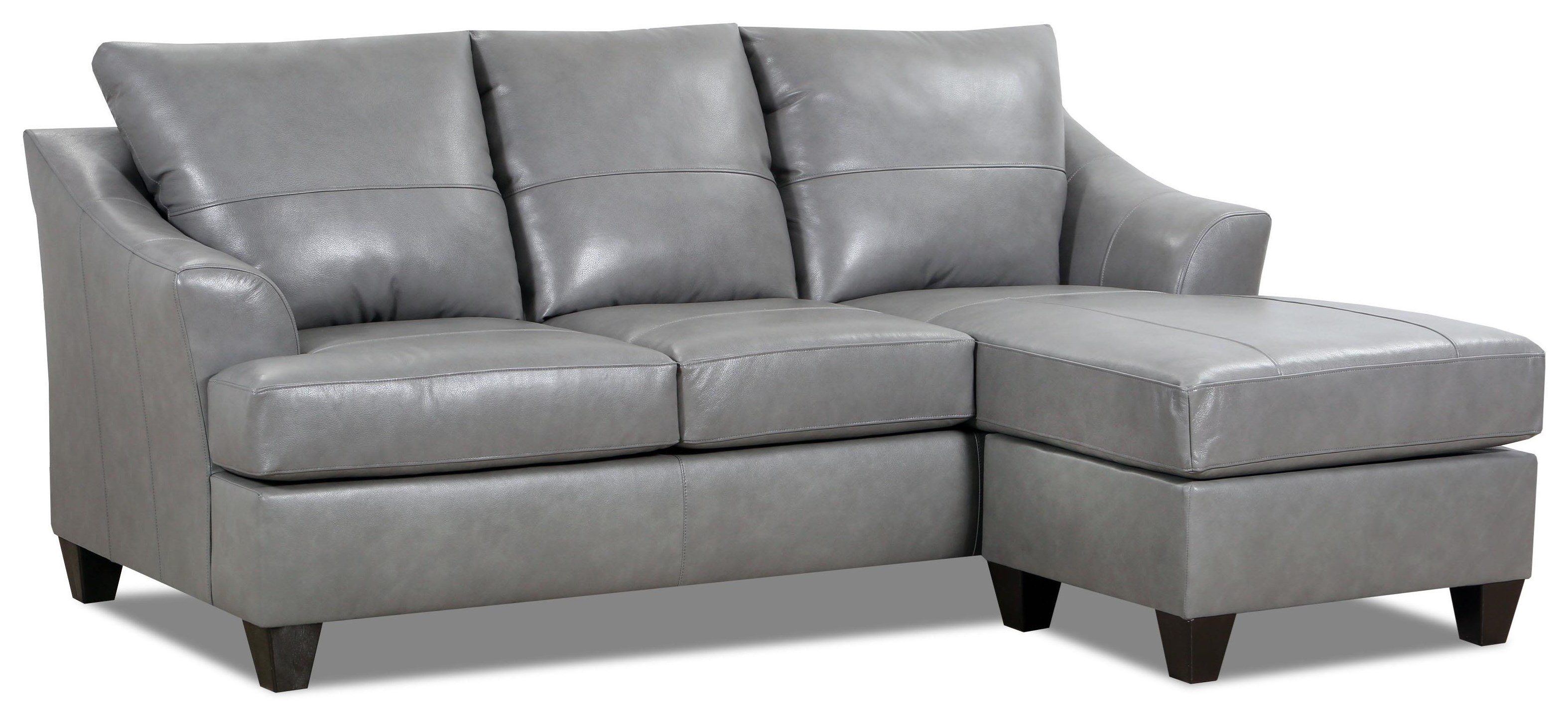 Novaleigh Novaleigh Leather Match Sofa Chaise by Lane at Morris Home