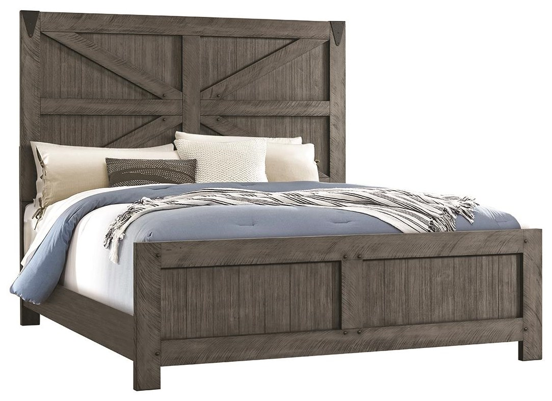Picture of: Lane Old Forge King Size Bed Darvin Furniture Panel Beds