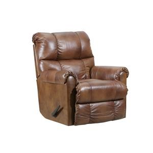 Soft Touch Leather Rocker Recliner