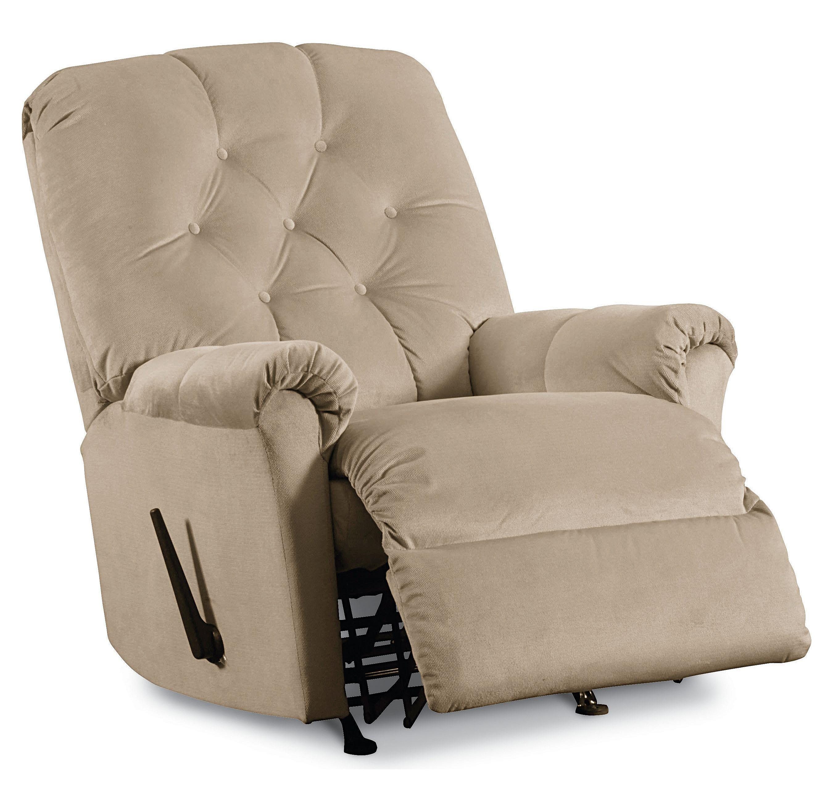 Lane rocker recliners 11797s miles pad over chaise tufted for Bulldog pad over chaise rocker recliner