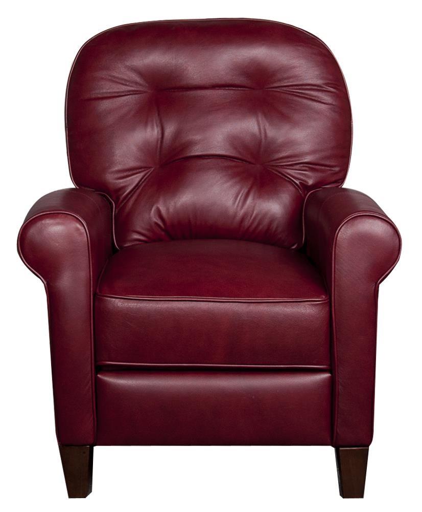 Lane Simba Simba Leather-Match* High Leg Recliner - Item Number: 413045864
