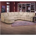 Lane Stallion Reclining Sectional Sofa - Item Number: 232-67R+86L+04+2x03