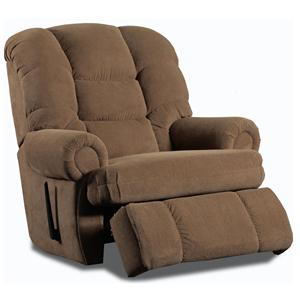 Lane Stallion Hide-a-Chaise Wallsaver Recliner