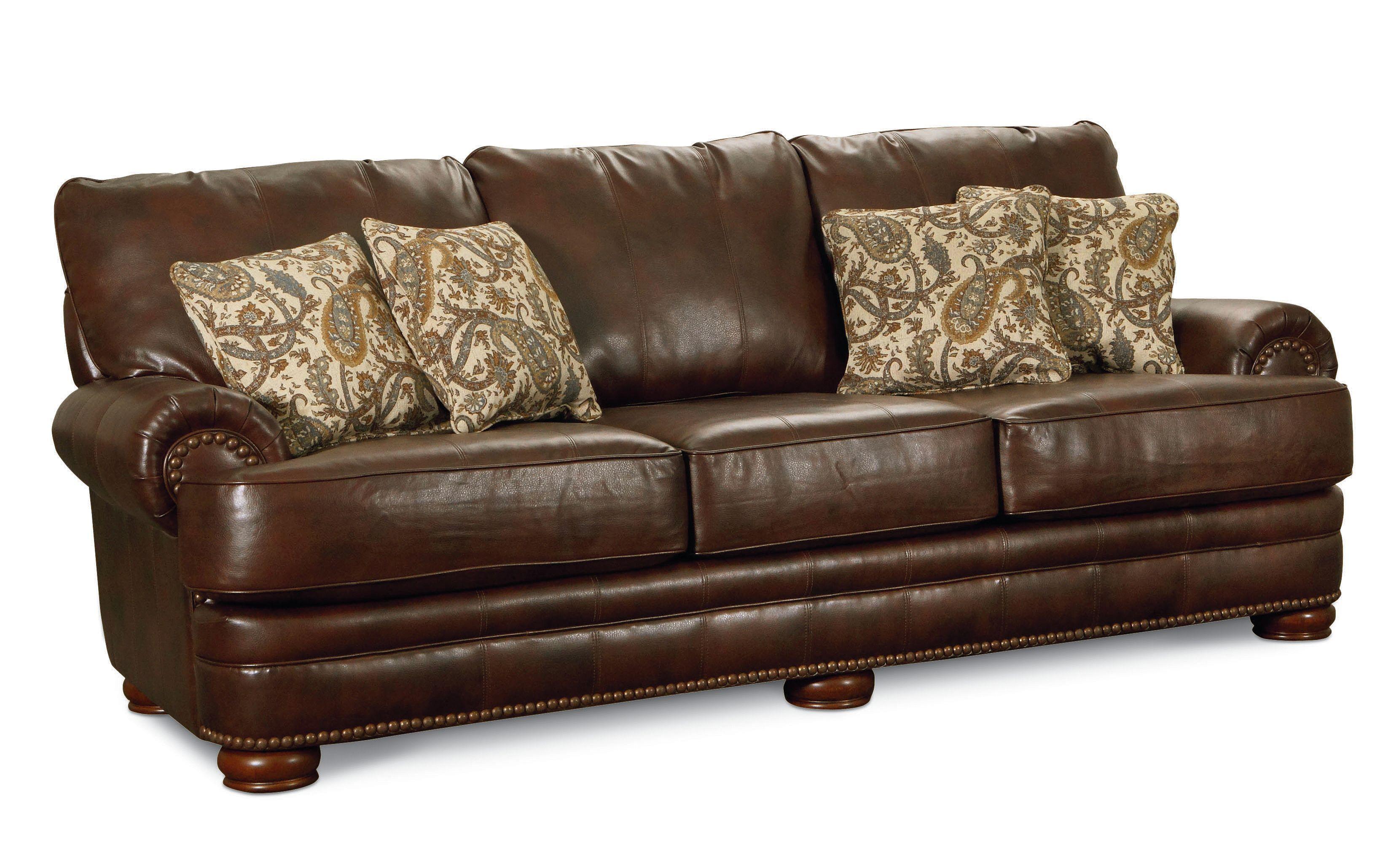 Lane Stanton 863 30 Stationary Sofa With Nailhead