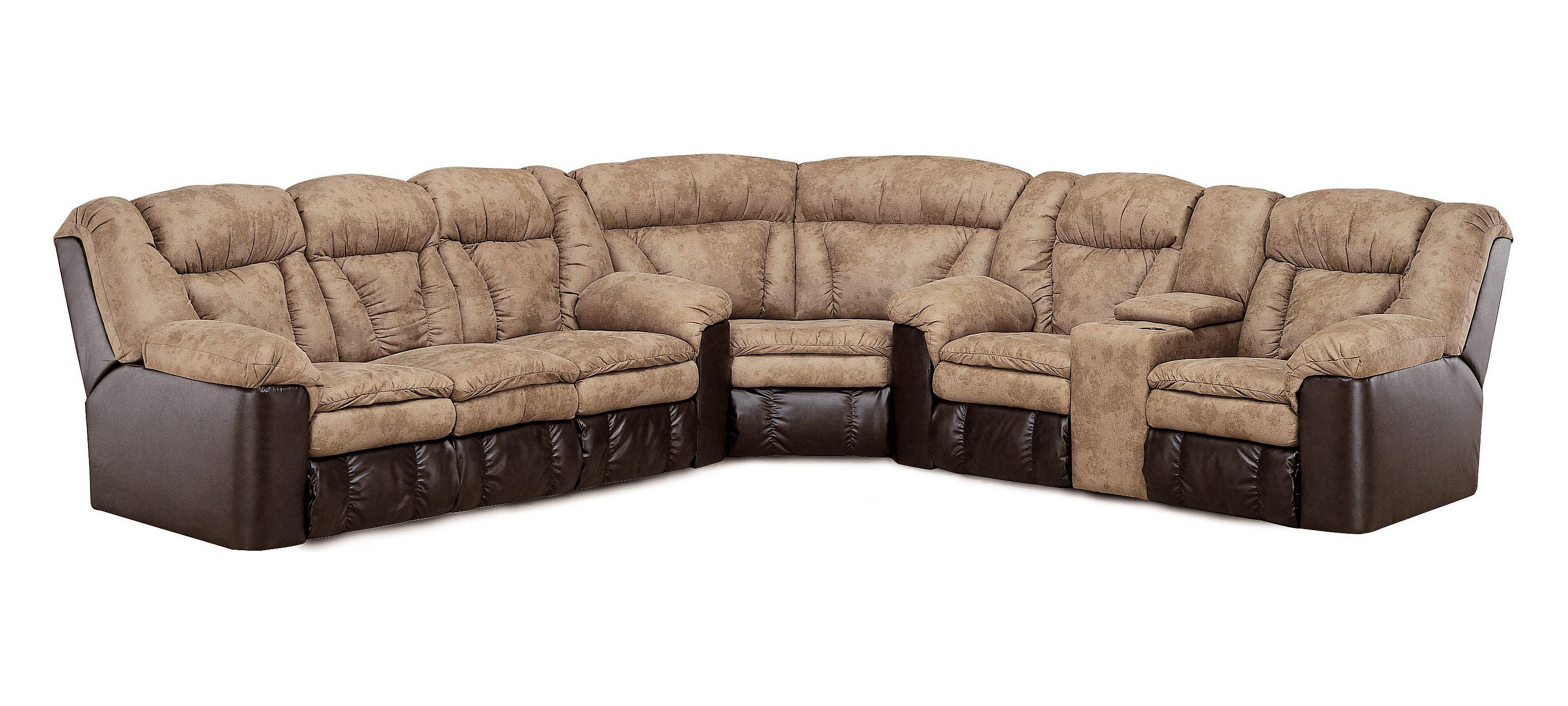 Lane Talon Lane Reclining Sectional Group Rune s Furniture
