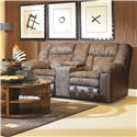 Lane Talon - Lane Double Reclining Console Sofa - Item Number: 24943-4632-17-5101-20