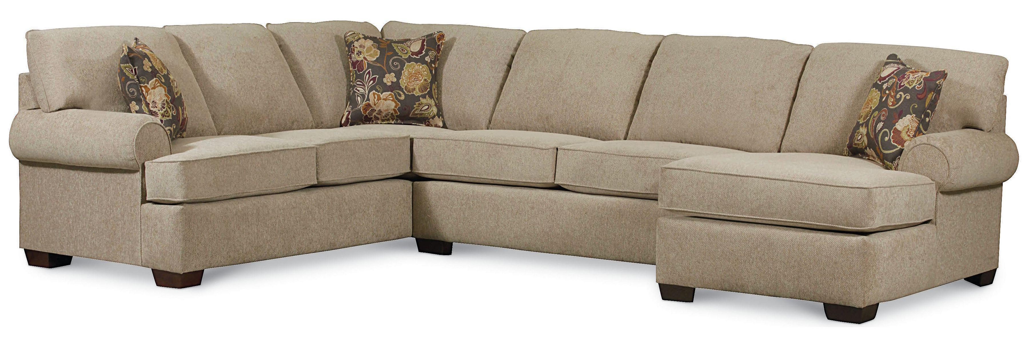 Delicieux Vivian Transitional 3 Piece Sectional Sofa By Lane