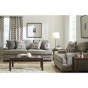 Lane Whitehaven Stationary Living Room Group - Item Number: 8022 Living Room Group 6