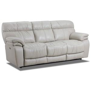 Lane Windjammer Powerized Double Reclining Sofa
