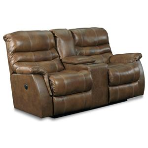 Lane Express Garrett Power Double Reclining Loveseat with Storage