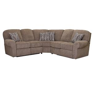 Lane Megan Quick Ship Reclining Sectional Sofa