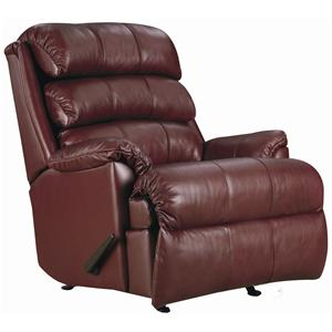 Revive Quick Ship Power Rocker Recliner with Plush Pillow Arms by Lane Express