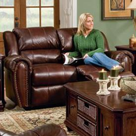 Lane Summerlin <b>Quick Ship</b> Reclining Love Seat