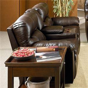 Lane Touchdown  <b>Quick Ship</b> Reclining Console Sofa