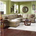 Lane Express Vivian  3 Piece Stationary Sectional