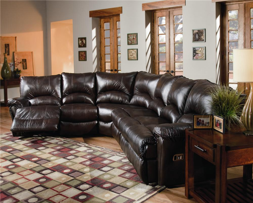 Lane Alpine Motion Sectional Sofa With Wedge And Armless Chair Hudson 39 S Furniture Reclining