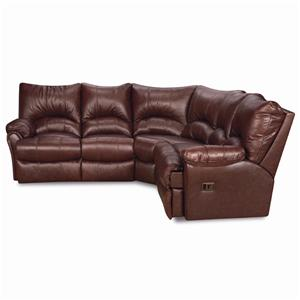 Motion Sectional Sofa with Wedge