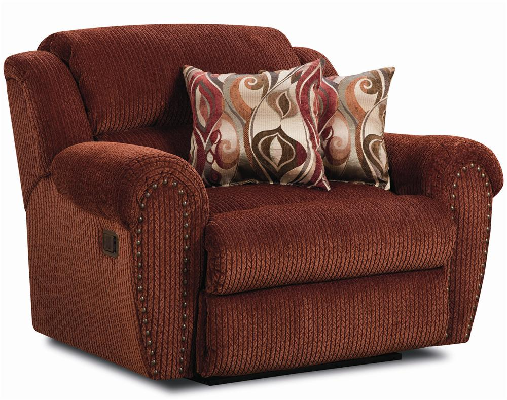 Lane Summerlin Snuggler Recliner With Rolled Arms And