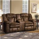 Lane Talon Double Reclining Console Sofa - Item Number: 249-43