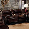 Lane Touchdown Double Reclining Console Sofa - Item Number: 292-43