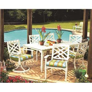 Lane Venture Belmeade 7 Piece Outdoor Dining Set