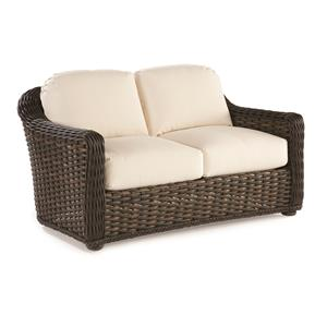 South Hampton  Outdoor Loveseat with Cushioned Seat and Back by Lane Venture