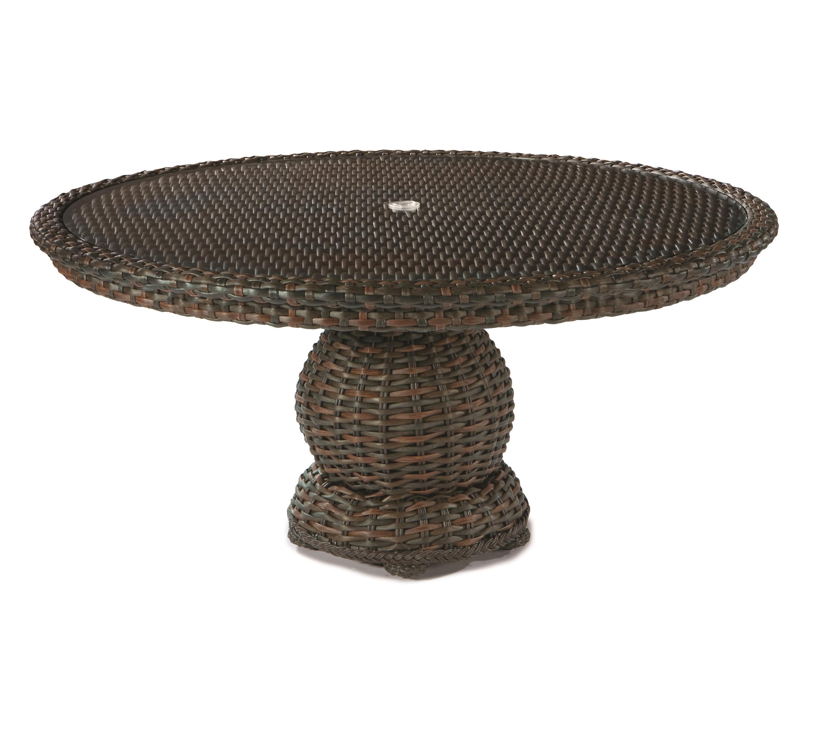 South Hampton  Round Pedestal Dining Table by Lane Venture at Jacksonville Furniture Mart