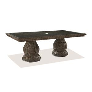 Lane Venture South Hampton  Double Pedestal Dining Table