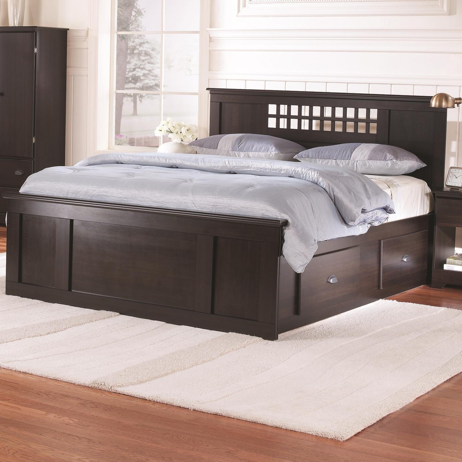 A1 Furniture Mattress Princess Night: Lang Bayfield Full Panel Captains Bed