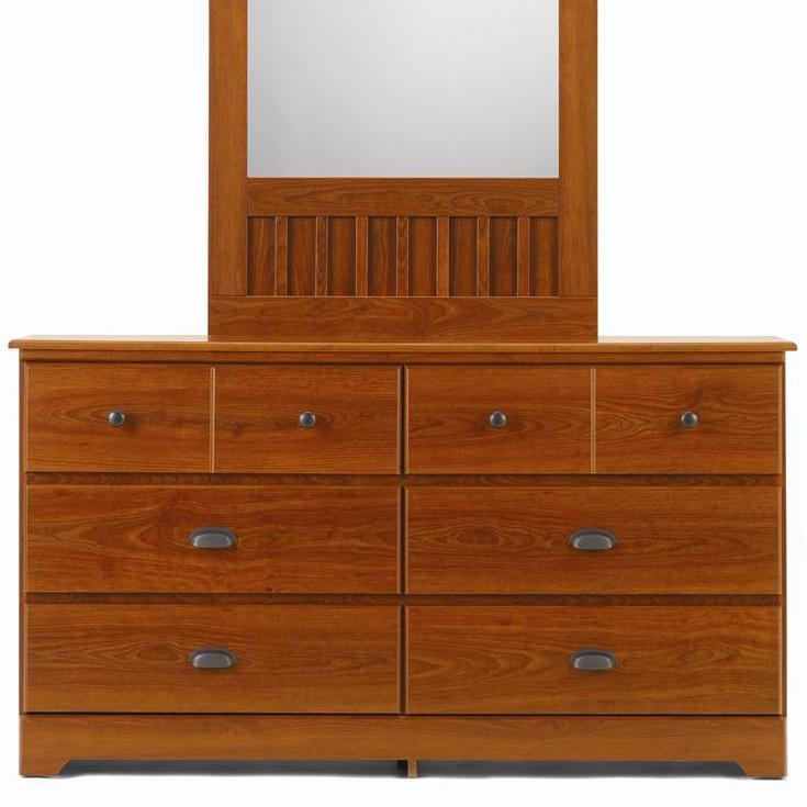 6 Drawer Dresser with Roller Glides