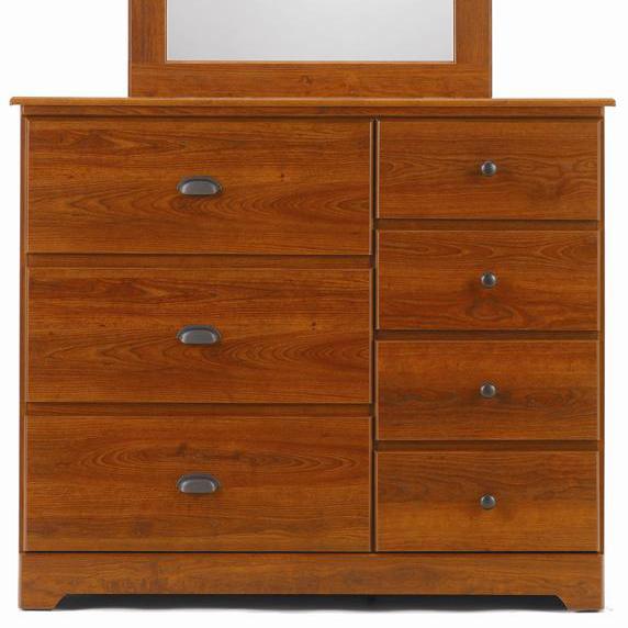 7 Drawer Dresser with Roller Glides