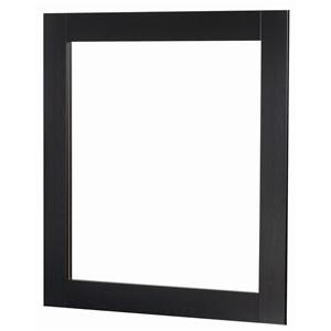 Framed Mirror with Supports