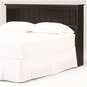 Lang Columbia King Bookcase Headboard with Lights