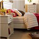 Lang Echo Bay Nightstand with 1 Drawer - ECH-03-121