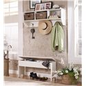 Lang Hartland Entry Wall Shelf with Baskets - HAR-03-011+ACC-BASKET20