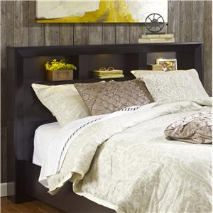 Hudson King Shadow Headboard with 3 Storage Compartments by Lang