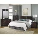 Lang Hurley Twin Bedroom Group - Item Number: HUR T Bedroom Group 1