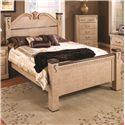 Lang Kenosha King Poster Bed - KEN-BA16-K - Bed Shown May Not Represent Exact Size Indicated