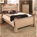 Lang Kenosha Queen Poster Bed - Item Number: KEN-BA16-Q