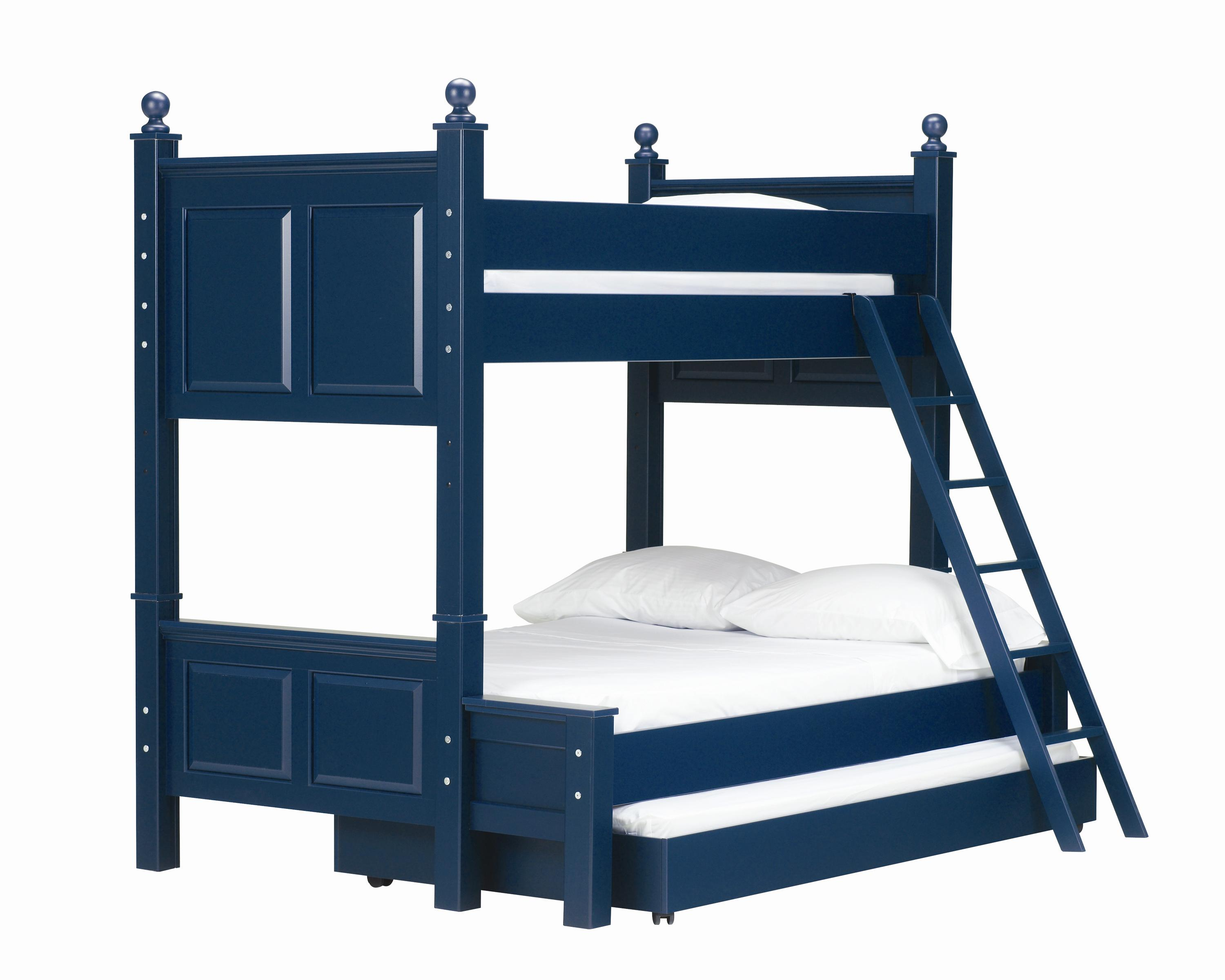 Lang Madison Twin Over Full Bunk Bed with Trundle Bed - AHFA - Bunk ...