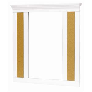 Lang Madison Bulletin Board Mirror with Supports