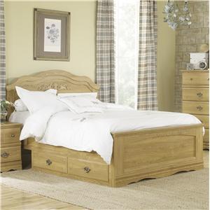 Lang Oak Creek Queen Panel Bed