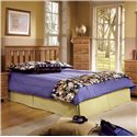 Lang Shaker Full/Queen Panel Headboard - Pictured with Lingerie Chest