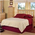 Lang Shaker Full Headboard - Bed Shown May Not Represent Exact Size Indicated