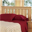Lang Shaker King Headboard - Bed Shown May Not Represent Size Indicated