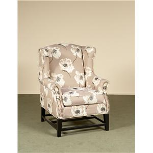 Largo Brooke Winged Accent Chair