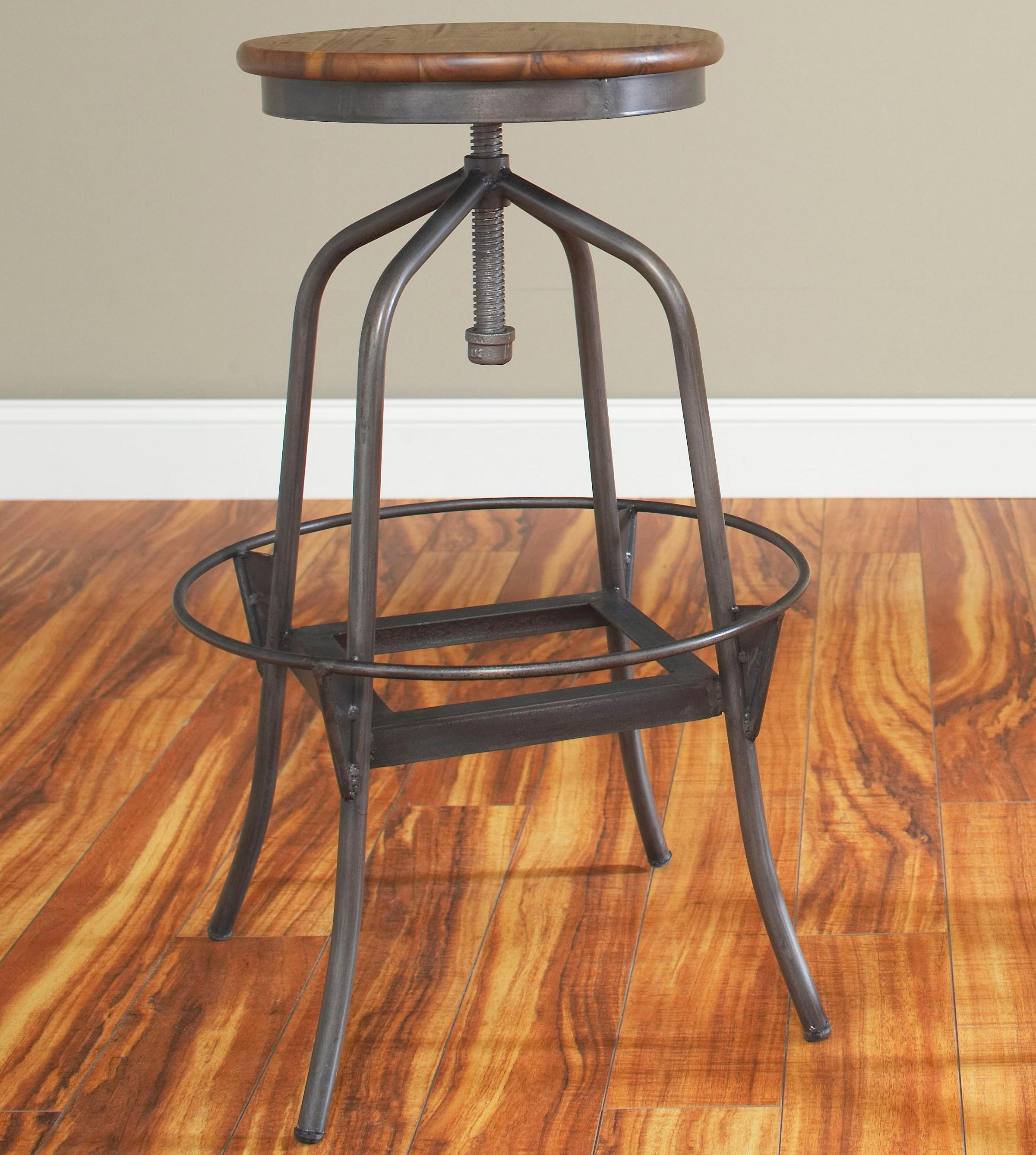 "Largo Abbey 24"" Swivel Counter Stool - Item Number: D272-24"